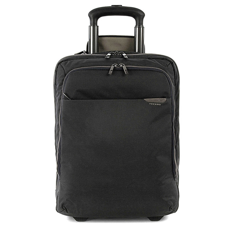 Tucano Work-Out Expanded Trolley Carry On Case, Midnight | Kipe it