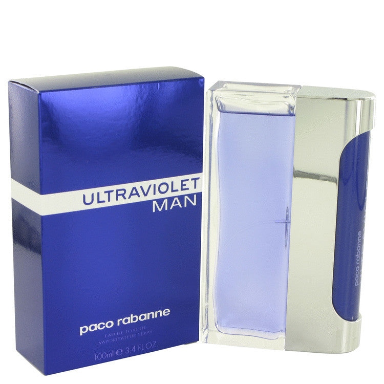 ULTRAVIOLET by Paco Rabanne Eau De Toilette Spray 3.4 oz (Men) | Kipe it