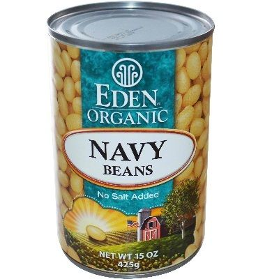 Eden Foods Navy Beans Can (12x15 Oz) | Kipe it