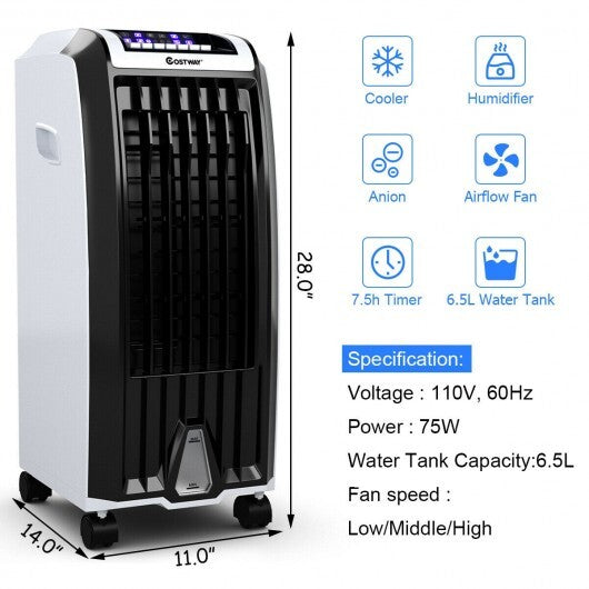 Evaporative Portable Air Conditioner Cooler | Kipe it