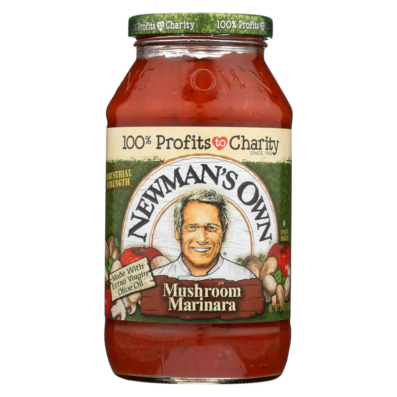 Newman's Own Marinara Pasta Sauce - Mushrooms - Case of 12 - 24 Fl oz. | Kipe it