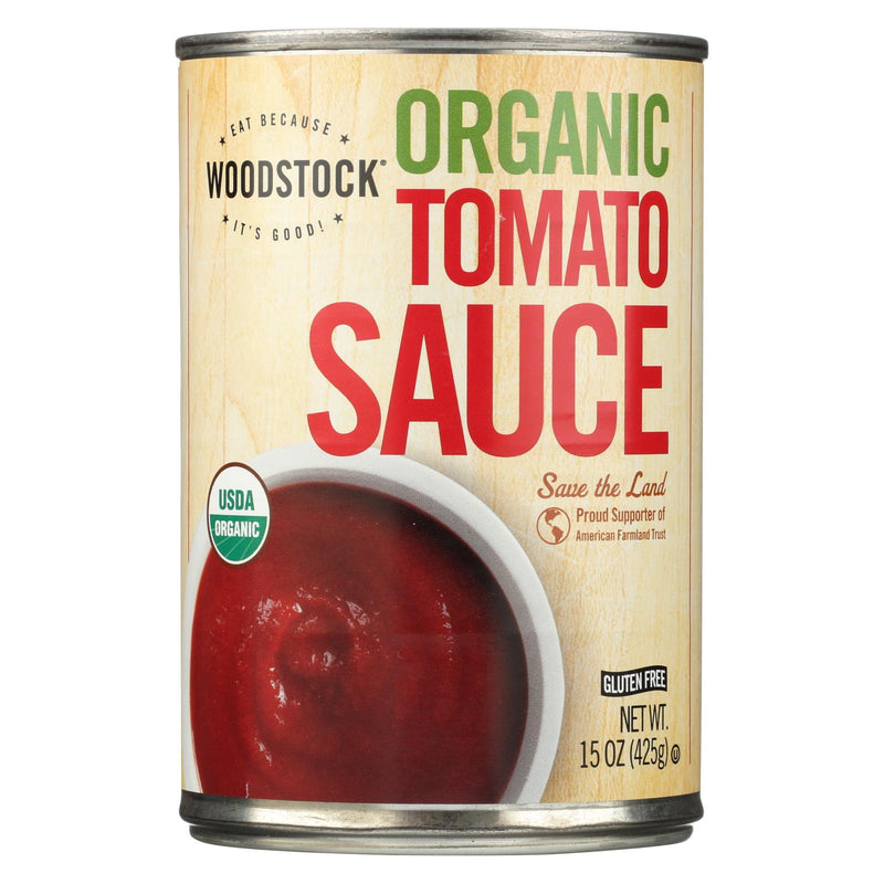 Woodstock Tomato Sauce - Organic - 15 oz - case of 12 | Kipe it