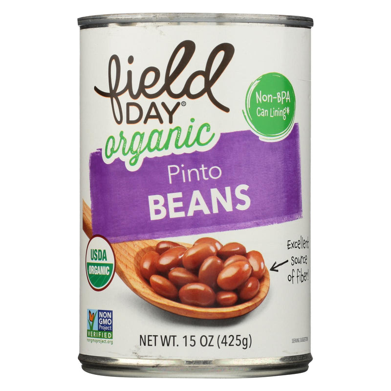 Field Day Beans - Organic - Pinto - 15 oz - case of 12 | Kipe it