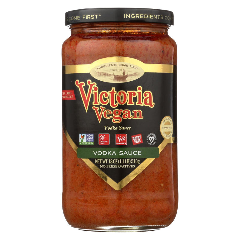 Victoria Pasta Sauce - Vegan Vodka - Case of 6 - 18 fl oz | Kipe it
