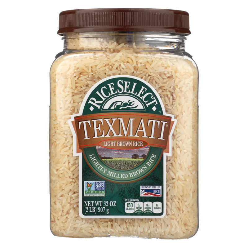 Rice Select Texmati Rice - Light Brown - Case of 4 - 32 oz.