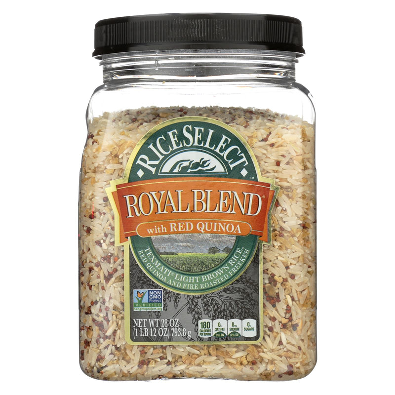 Rice Select Royal Blend Rice - Light Brown, Quinoa - Case of 4 - 28 oz. | Kipe it