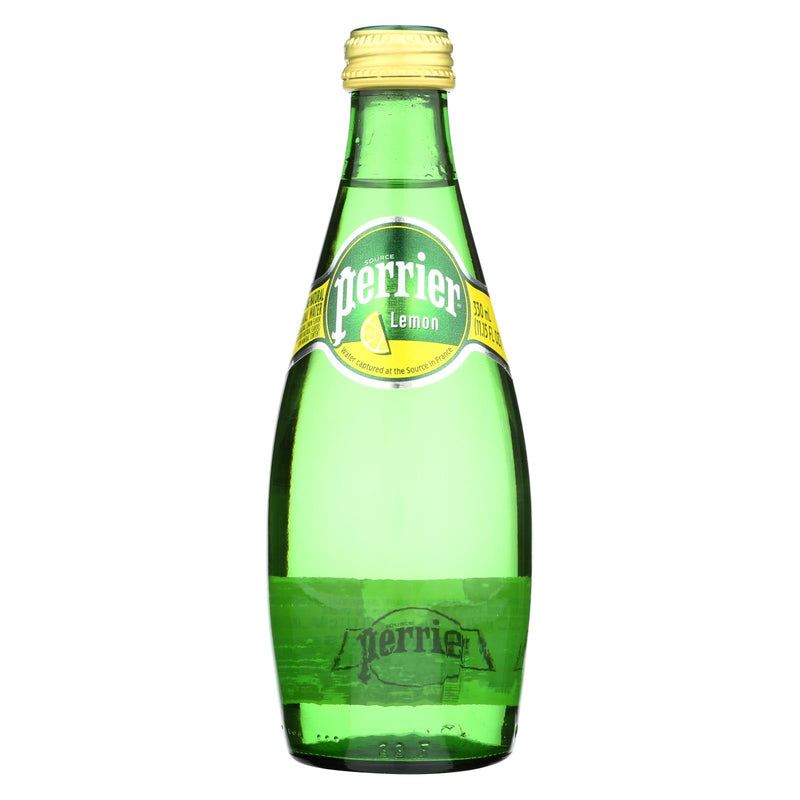 Perrier Sparkling Mineral Water - Lemon - Case of 6 - 11 Fl oz. | Kipe it