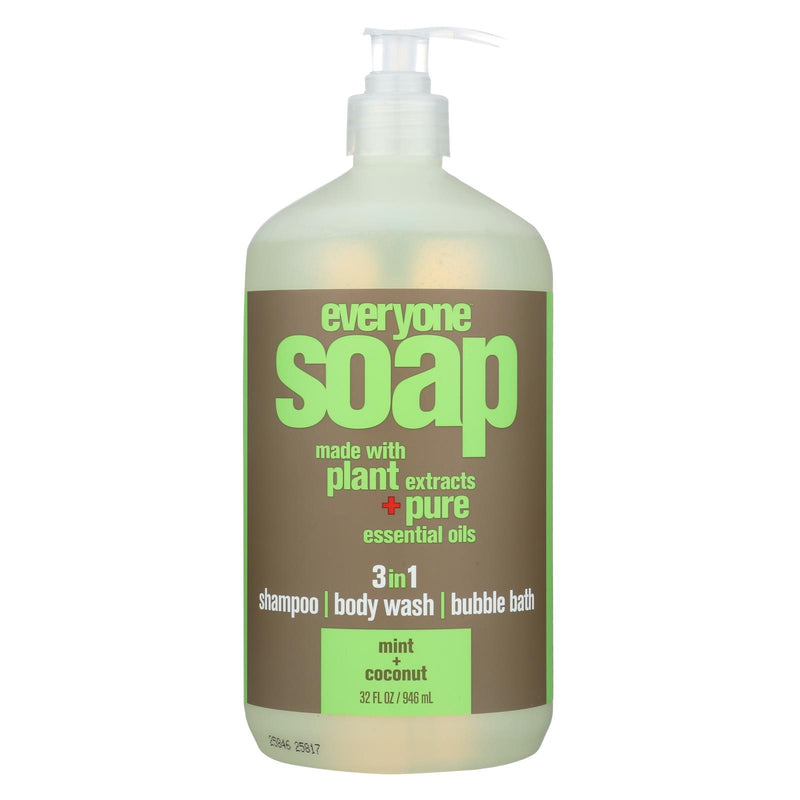 EO Products Hand Soap - Natural - Everyone - Liquid - Mint and Coconut - 32 oz | Kipe it
