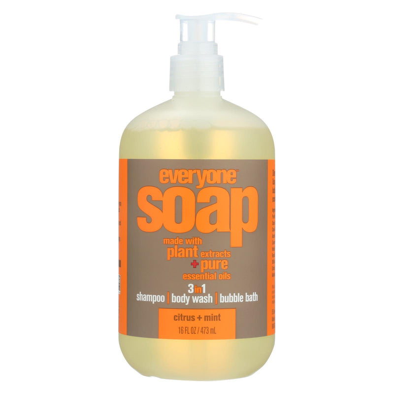 EO PRODUCTS Everyone Soap - 3 In 1 - Citrus - Mint - 16 fl oz | Kipe it