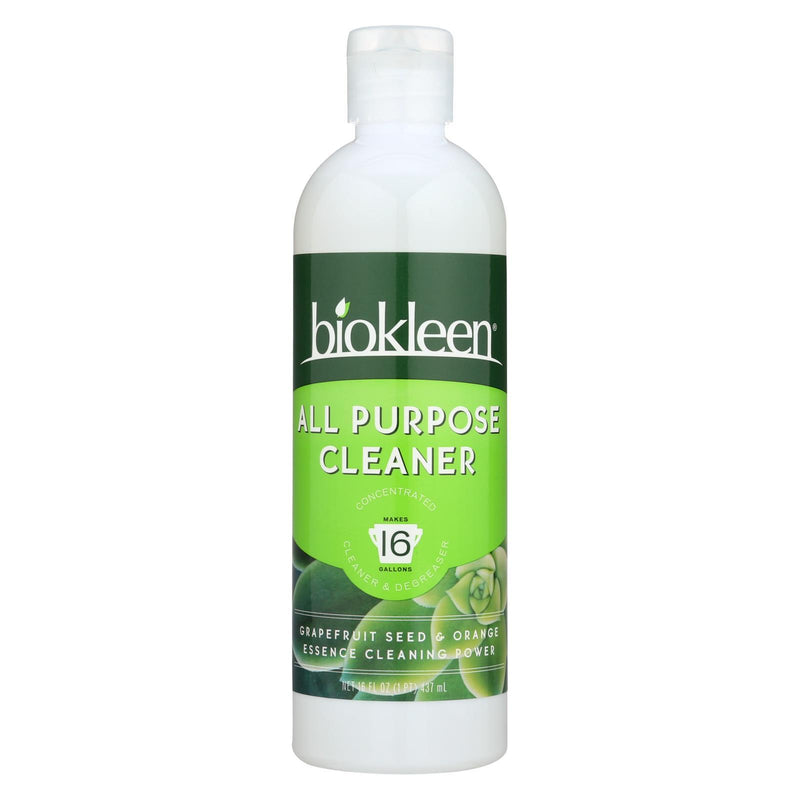 BIOKLEEN Super Concentrated All Purpose Cleaner - 16 fl oz | Kipe it