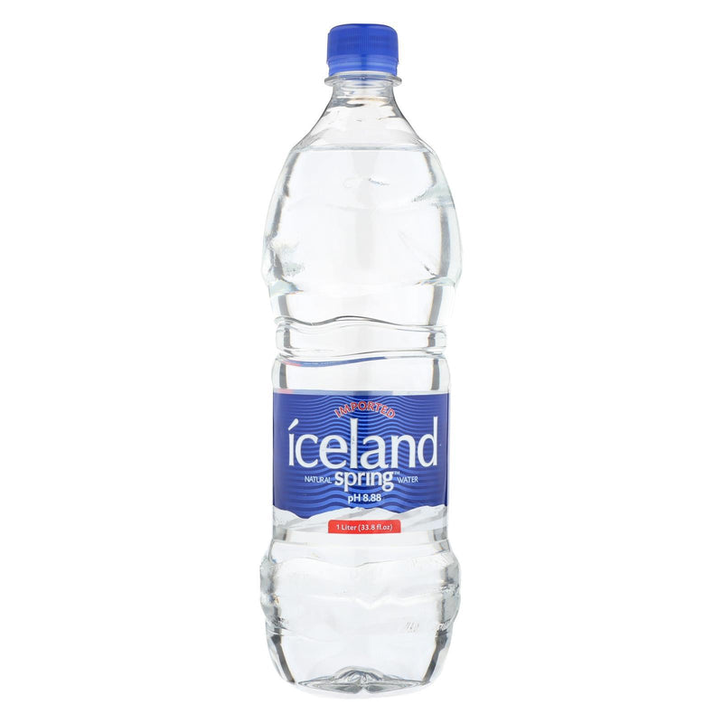 Iceland Springs Spring Water - Case of 12 - 33.8 Fl oz. | Kipe it