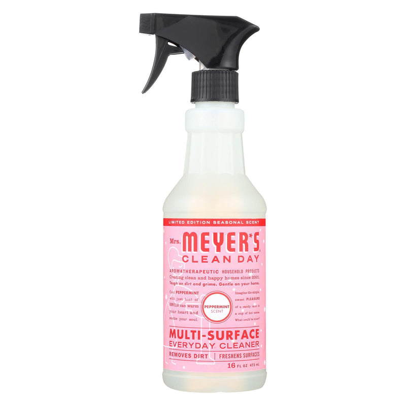 Mrs. Meyer's Clean Day - Multi-Surface Everyday Cleaner - Peppermint - Case of 6 - 16 fl oz. | Kipe it