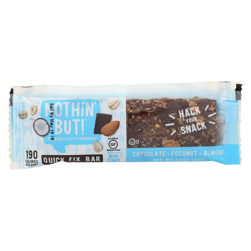 Nothin But Bar - Chocolate Coconut Almond - Case of 12 - 1.4 oz. | Kipe it