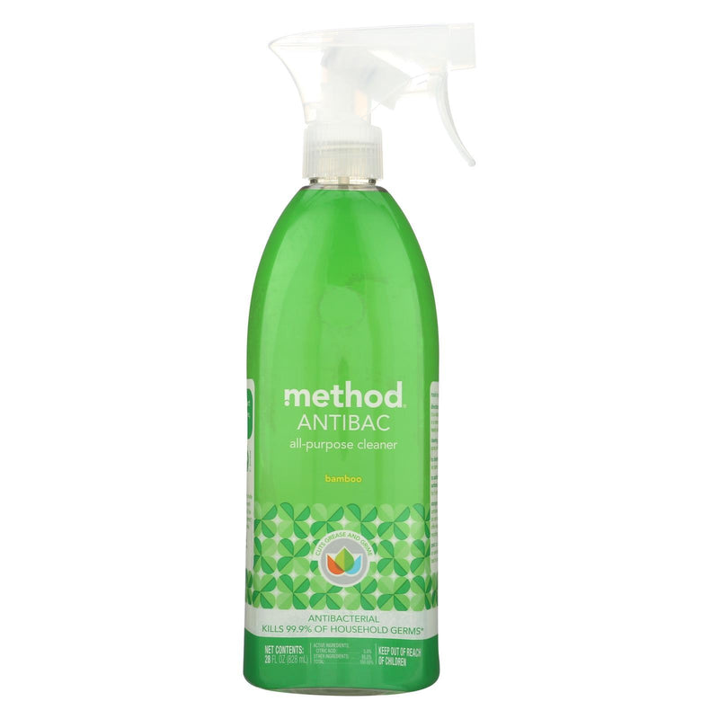 METHOD PRODUCTS All Purpose Cleaner - Bamboo - Case of 8 - 28 Fl oz. | Kipe it