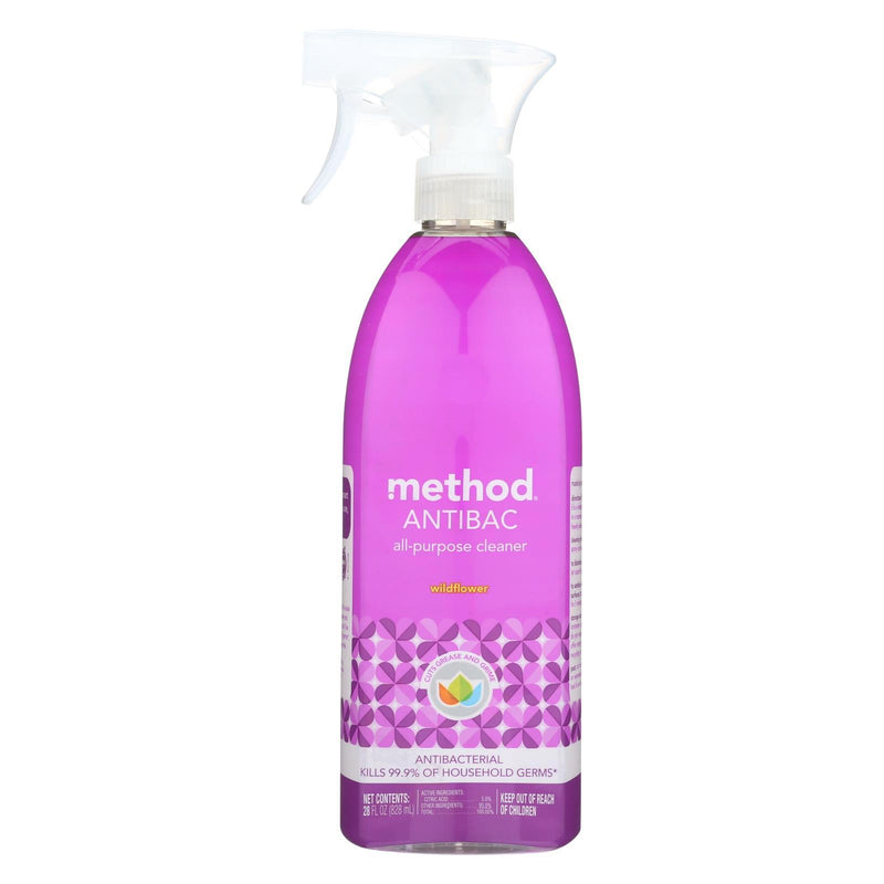 METHOD PRODUCTS All Purpose Cleaner - Wildflower - Case of 8 - 28 Fl oz. | Kipe it
