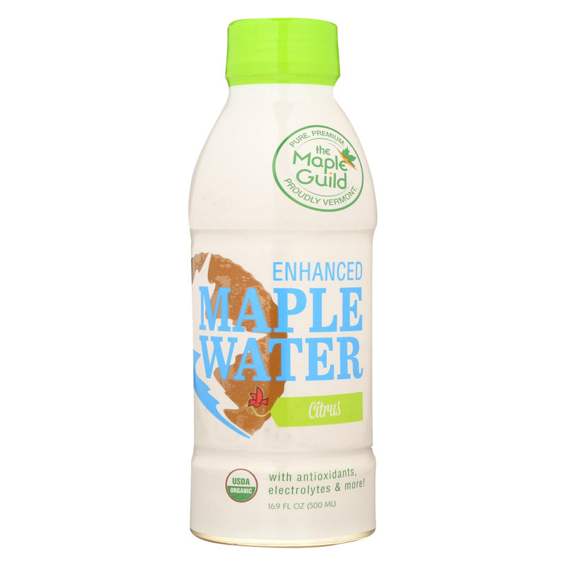 The Maple Guild Organic Enhanced Maple Water - Citrus - Case of 12 - 16.9 fl oz | Kipe it