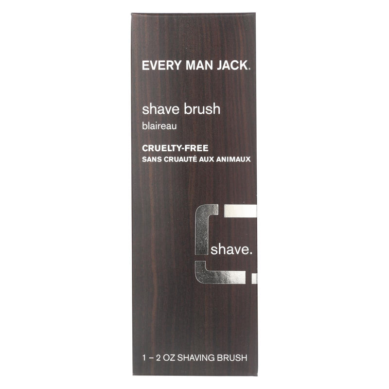 EVERY MAN JACK Shave Brush - Premium Shave - 1 Brush - 2 oz | Kipe it