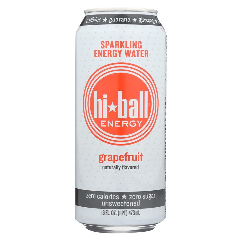 Hi Ball Energy Sparkling Energy Water - Grapefruit - Case of 1 - 8/16 fl oz. | Kipe it