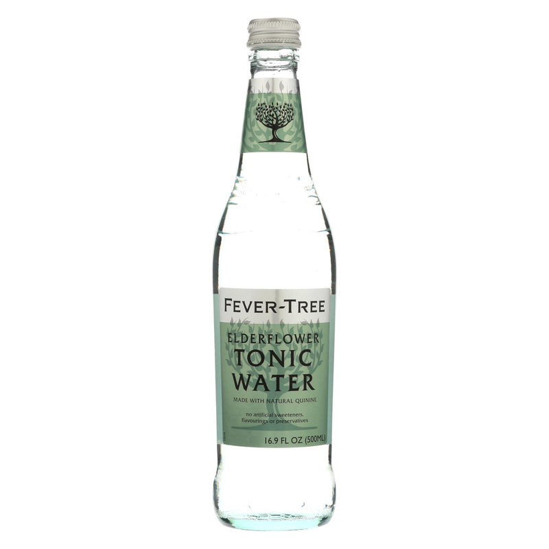 Fever - Tree Elderflower Tonic Water - Tonic Water - Case of 8 - 16.9 FL oz. | Kipe it