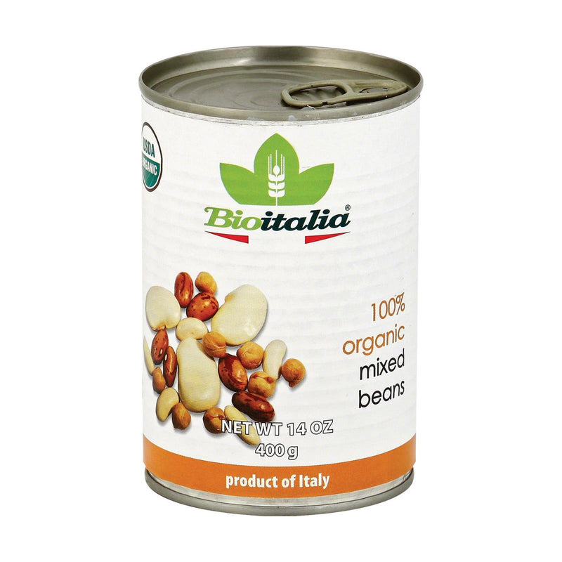 Bioitalia Beans - Mixed Beans - Case of 12 - 14 oz. | Kipe it