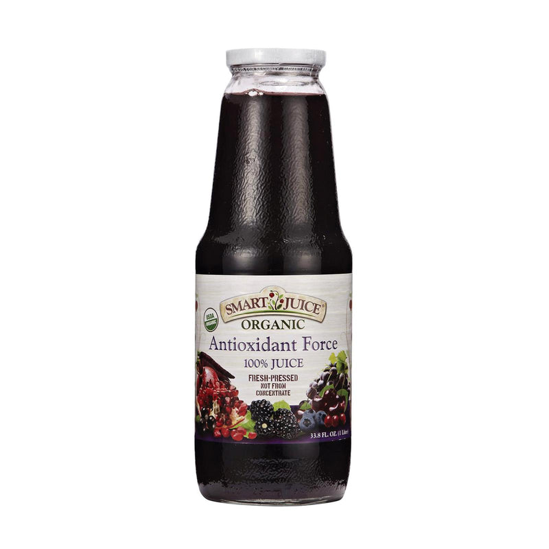 Smart Juice Organic Antioxidant Force - Case of 6 - 33.8 Fl oz. | Kipe it