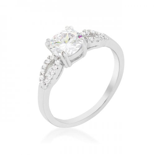 Round Solitaire Engagement Ring (size: 09) (pack of 1 ea) | Kipe it