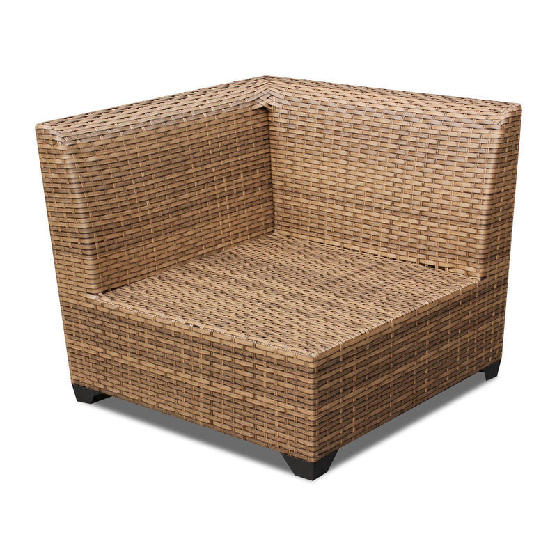 TK CLASSICS Laguna 6 Piece Outdoor Wicker Patio Furniture Set 06d - Aruba | Kipe it