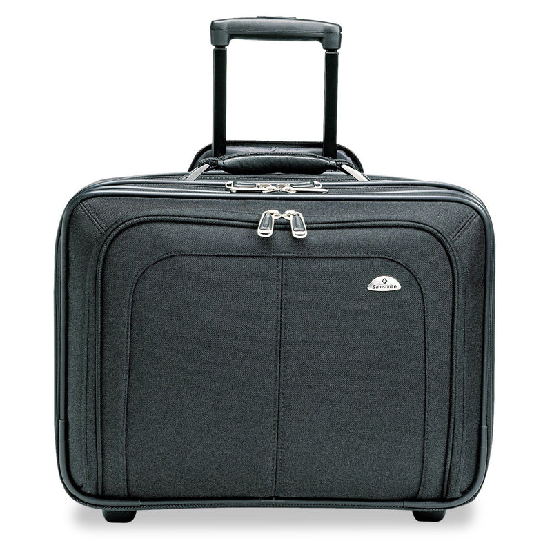 "SAMSONITE Mobile Office Rolling Notebook Case, Nylon, 17 1/2"" X 9"" X 14"" - Black 