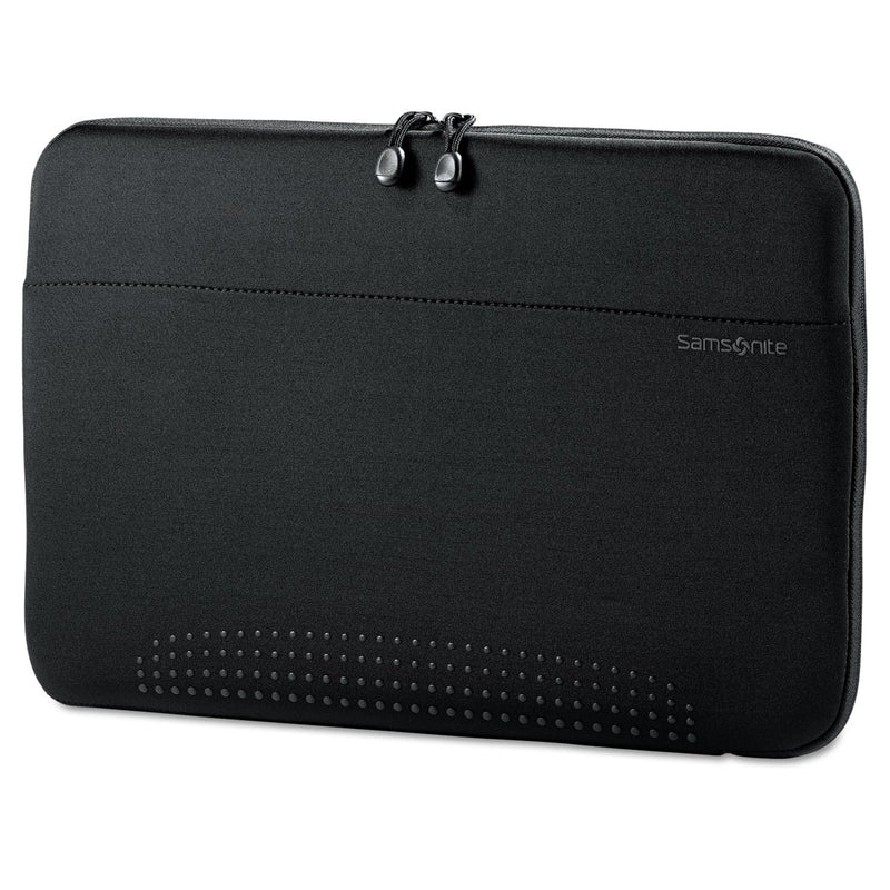 "SAMSONITE 15.6"" Aramon Laptop Sleeve, Neoprene, 15-3/4"" X 1"" X 10-1/2"" - Black"