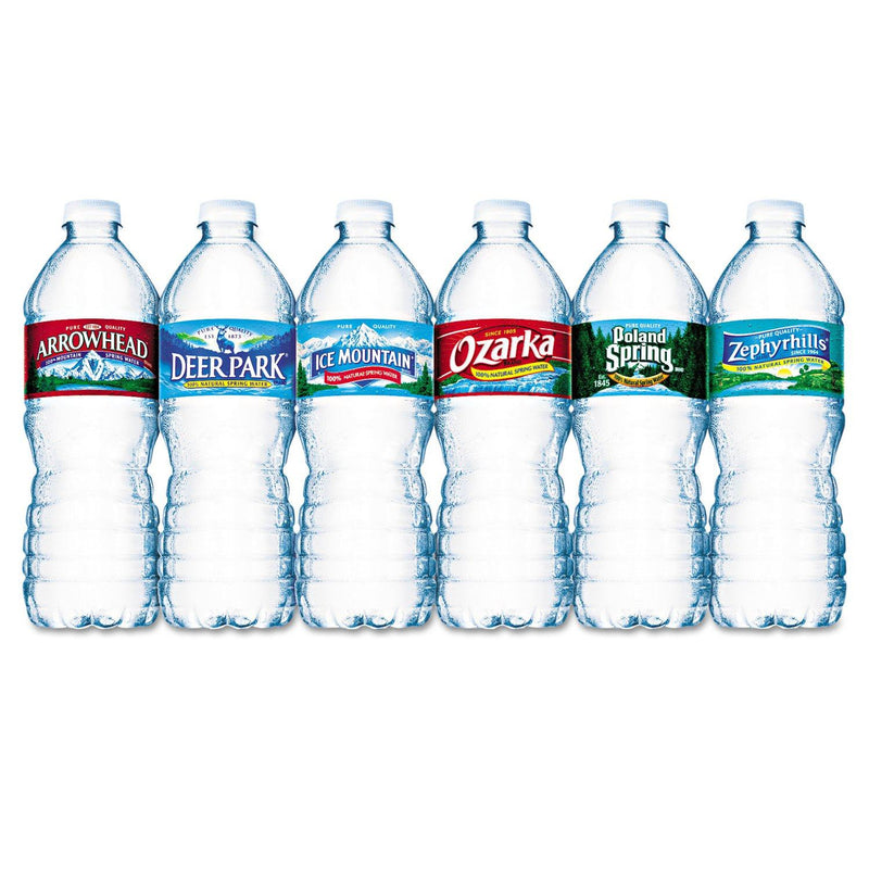 Bottled Natural Spring Water, .5l, Bottles, 24/carton | Kipe it
