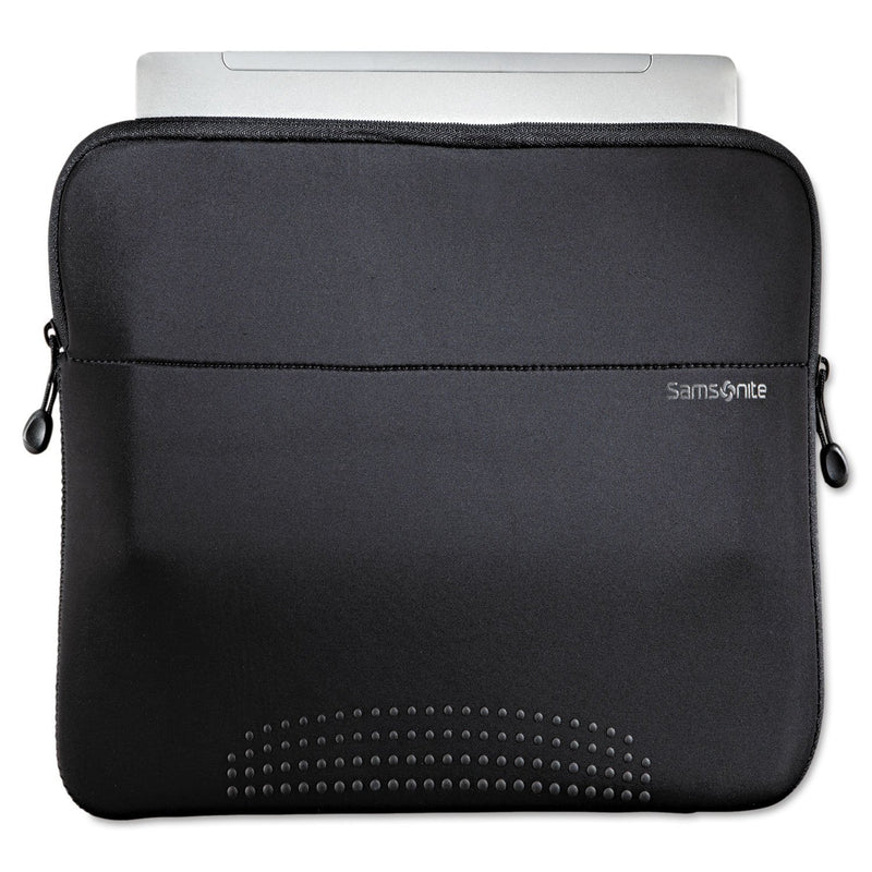 "SAMSONITE 14"" Aramon Laptop Sleeve, Neoprene, 14-1/2"" X 1"" X 10-1/2"" - Black"