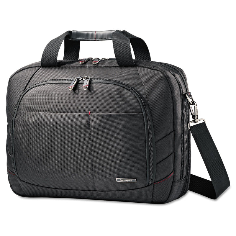 "SAMSONITE Perfect Fit Adjustable Laptop System, 16 1/2"" X 4 3/4"" X 12 3/4"" - Black"
