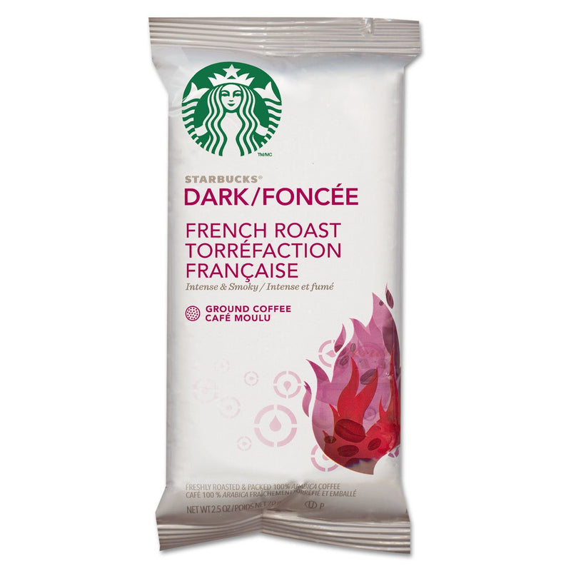 Coffee, French Roast, 2.5oz Bag, 18 Bags/box | Kipe it