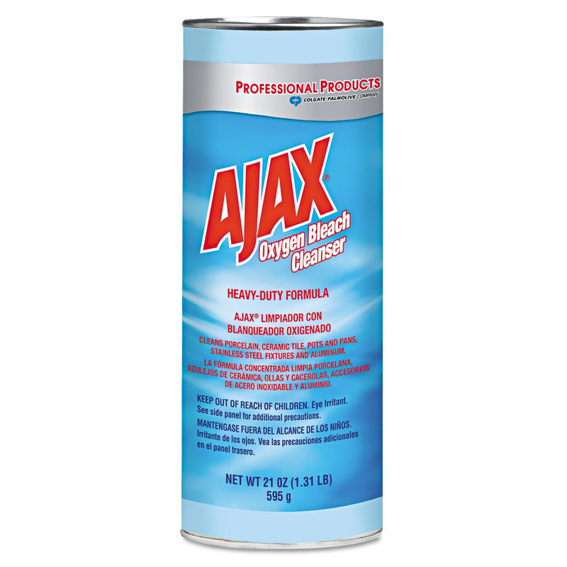 AJAX Oxygen Bleach Powder Cleanser, 21oz Can, 24/carton | Kipe it