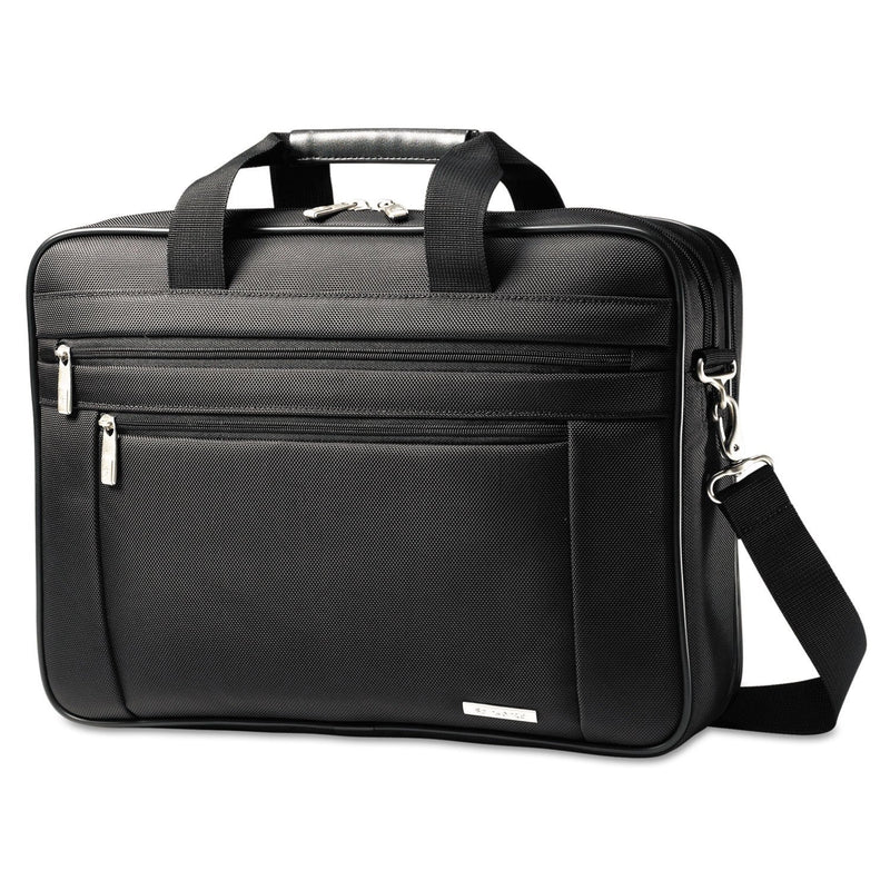 "SAMSONITE Classic Perfect Fit Laptop Case, 16 1/2"" X 4 1/2"" X 12"", Nylon, Black 
