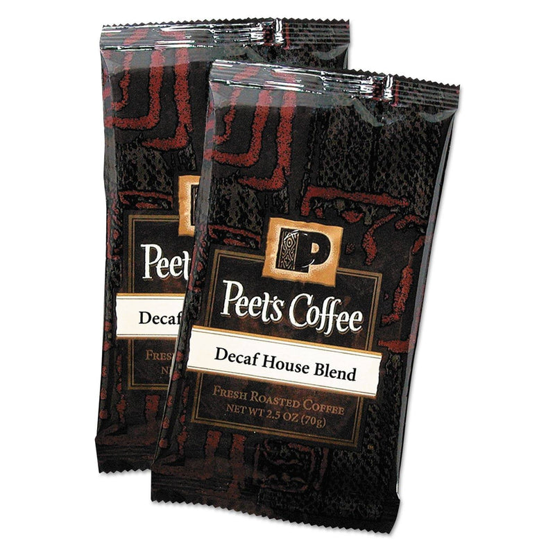 Coffee Portion Packs, House Blend, Decaf, 2.5 Oz Frack Pack, 18/box | Kipe it