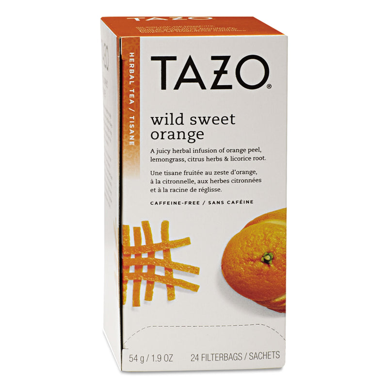 Tea Bags, Wild Sweet Orange, 24/box | Kipe it