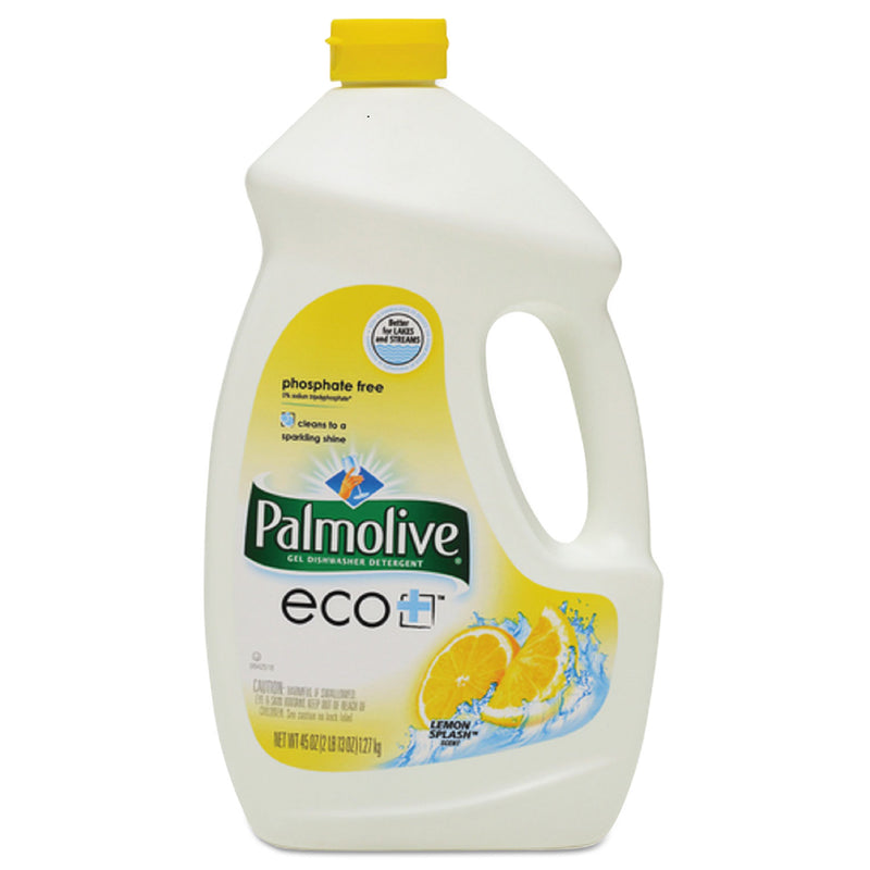 PALMOLIVE Automatic Dishwasher Gel, Lemon, 45 Oz Bottle, 9/carton | Kipe it