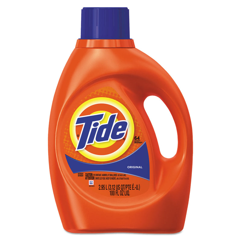 TIDE Ultra Liquid Laundry Detergent, Original Scent, 3.1 Qt. Bottle, 4/ct | Kipe it