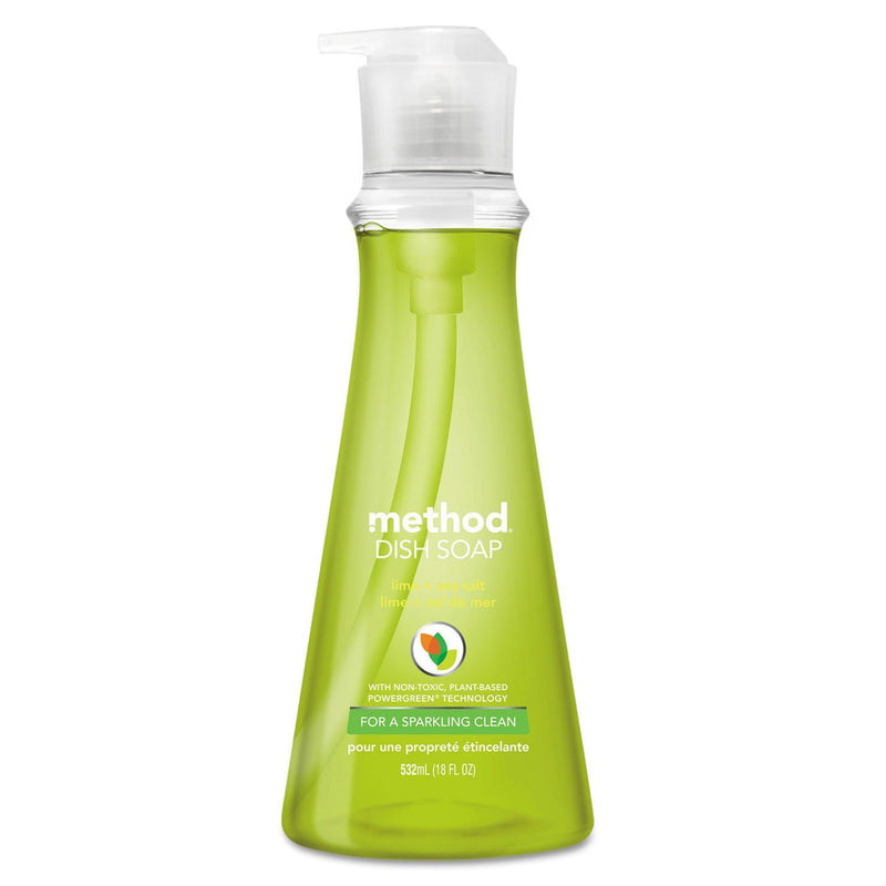 Dish Soap, Lime & Sea Salt, 18 Oz Pump Bottle | Kipe it