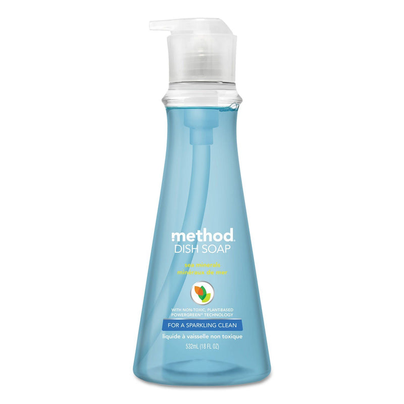 Dish Soap, Sea Minerals, 18 Oz Pump Bottle | Kipe it