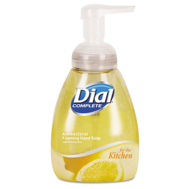 DIAL Antimicrobial Foaming Hand Wash, Light Citrus, 7.5oz Pump Bottle, 8/carton | Kipe it