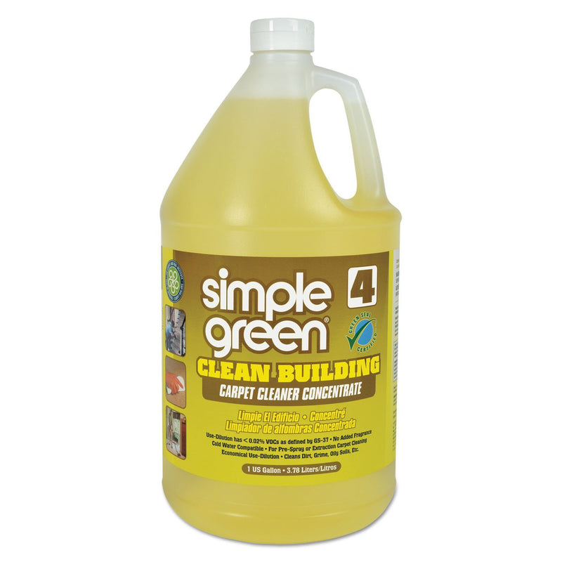 Clean Building Carpet Cleaner Concentrate, Unscented, 1gal Bottle | Kipe it