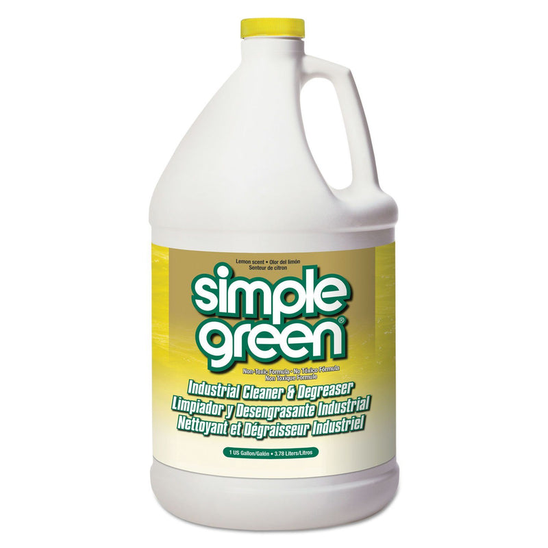 Industrial Cleaner & Degreaser, Concentrated, Lemon, 1 Gal Bottle, 6/carton | Kipe it