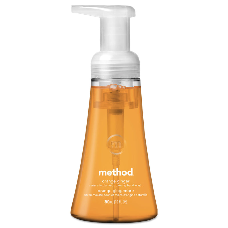 METHOD PRODUCTS Foaming Hand Wash, Orange Ginger, 10 Oz Pump Bottle, 6/carton | Kipe it