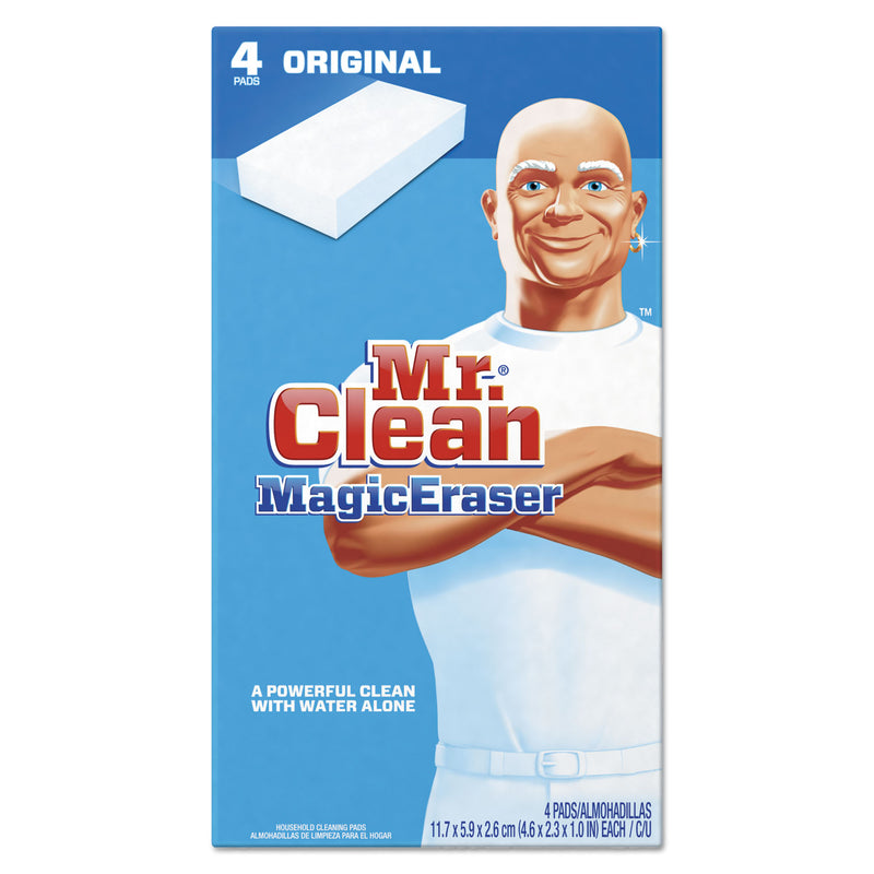 "MR CLEAN Magic Eraser - All Purpose, 2 2/5"" X 4 3/5"", 1"" Thick, White, 24/ctn 