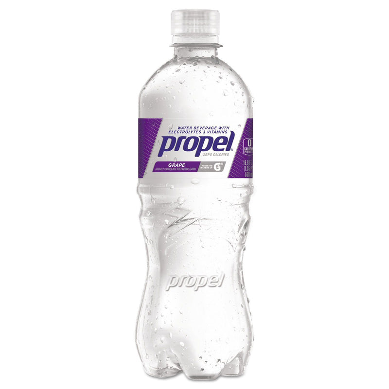 Flavored Water, Grape, Bottle, 500ml, 24/carton | Kipe it