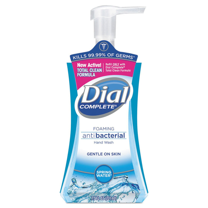 DIAL Antibacterial Foaming Hand Wash, Spring Water, 7.5oz | Kipe it