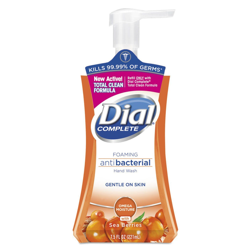 DIAL Antibacterial Foaming Hand Wash, Sea Berries, 7.5 Oz Pump Bottle | Kipe it