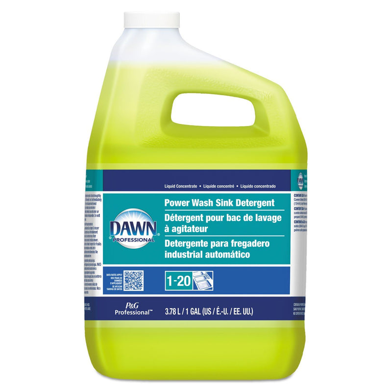 DAWN Power Wash Sink Detergent, Fresh Scent, 1 Gal Bottle, 3/carton | Kipe it